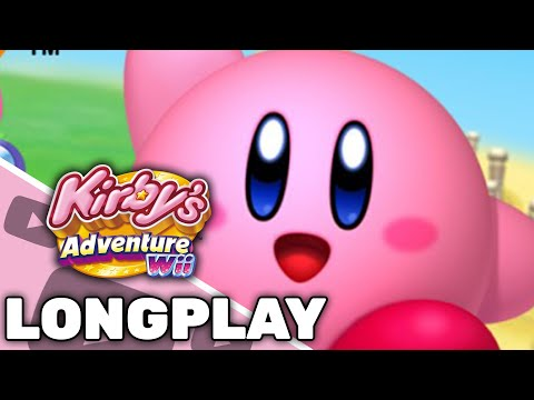 Kirby's Adventure Wii - Longplay