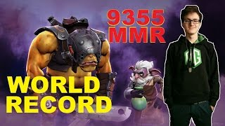 НОВЫЙ РЕКОРД МИРА  9355 MMR !!! ПУТЬ MIRACLE В TOP 1