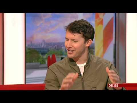 James Blunt Moon Landing Interview BBC Breakfast 2013