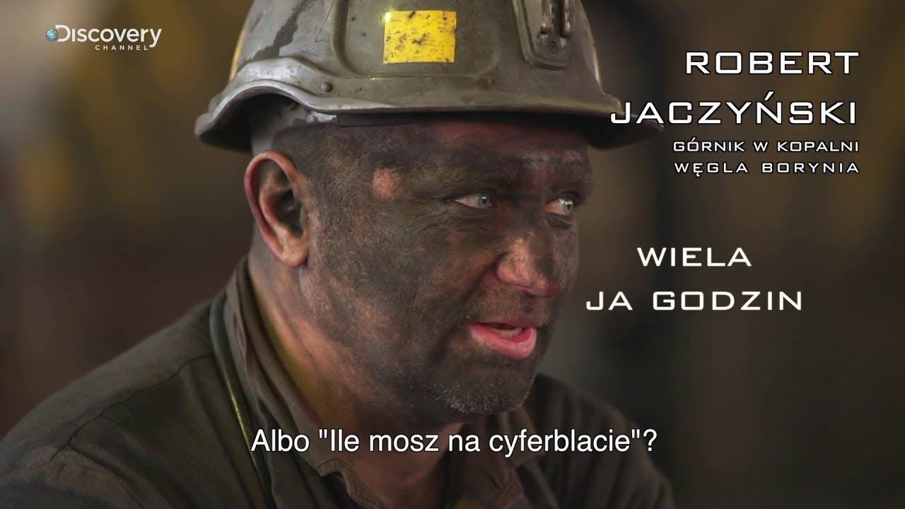 Górnicy PL | Śląsko godka: Wiela ja godzin? | Discovery Channel