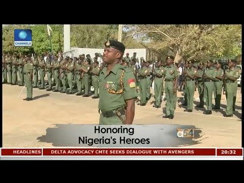 Honoring Nigeria's Heroes |Africa 54|