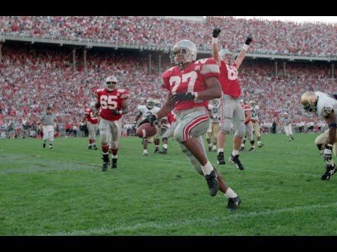 Classic Tailback - Eddie George Ohio State Highlights