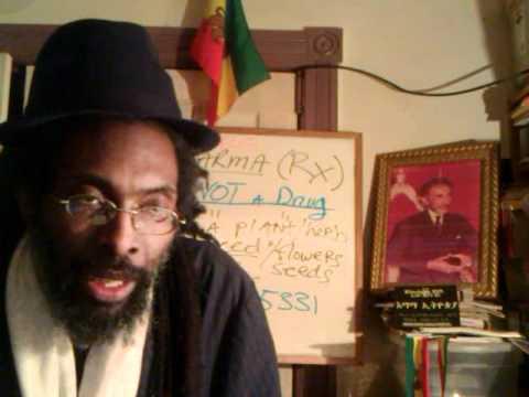 RX PHARMACEUTICAL DRUGS, IDOLATRY & Mystery Babylon's Sorceries Exposed 2012 - Rastafari Lecture