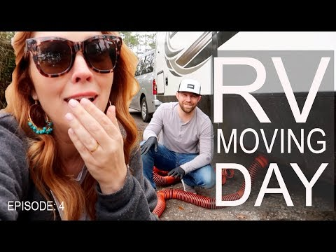 RV MOVING DAY! It's not so glamorous! | This Traveling Nest