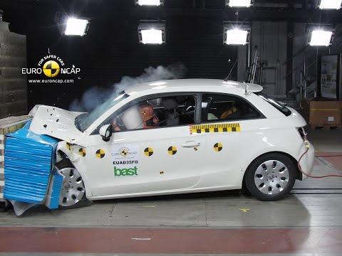 Audi A1 Crash Test Euro NCAP