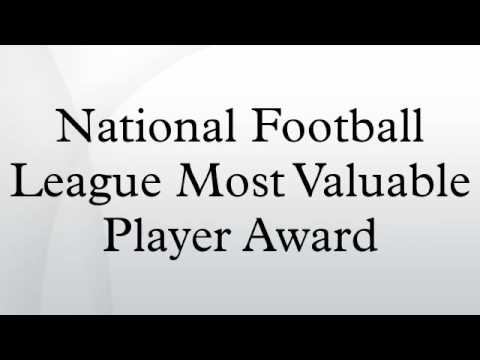 National Football League Most Valuable Player Award