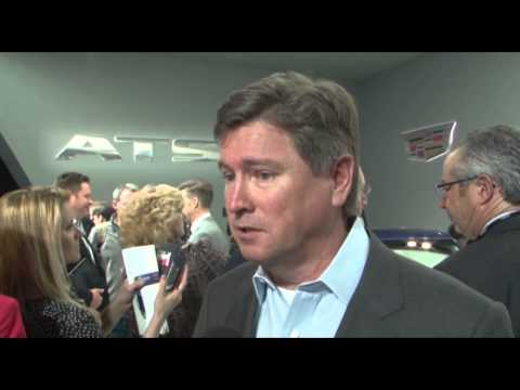 Cadillac ATS Reveal - Interview Bob Ferguson | AutoMotoTV