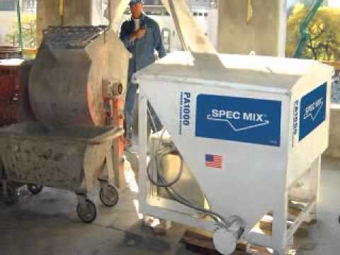 SPEC MIX® PA1000 Power Auger Delivery System