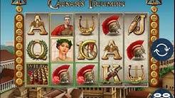 11 - Caesars Triumph Slot Game - Café Casino - Online Casino Games Tester - #onlineslot #казино