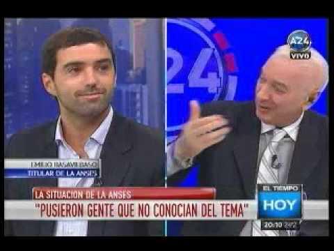Emilio Basavilbaso explicó la situación del ANSES en América 24