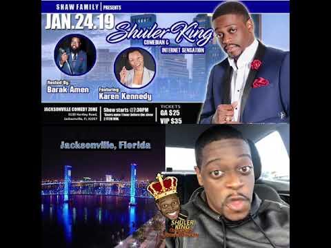 Shuler King - Jan 24 Jacksonville FL Comedy Zone