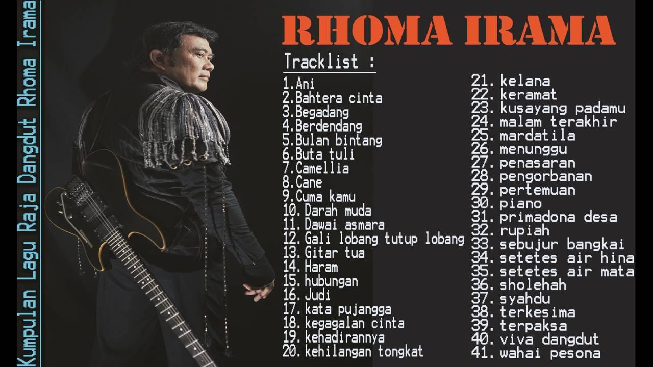 rhoma irama lagu terbaik full album lagu dangdut hits terbaik youtube