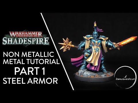 How To Paint NMM Steel Armor - Warhammer Nightvault Stormcasts