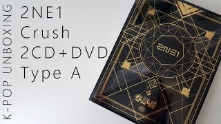 Baixar ♤♡◇♧ 2NE1 Crush (2CD+DVD Limited Type A) | Unboxing