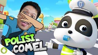KETIKA PANDA COMEL JADI POLISI WKWKWK!! Polisi Baby Panda [SUB INDO] ~Seru Nih GAme Wkwk!! screenshot 3