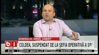 Radu Banciu:Florian Coldea suspendat după înregistrările lui Ghita