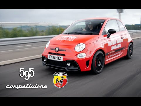 New Abarth 595 Competizione Review | 2016 Model