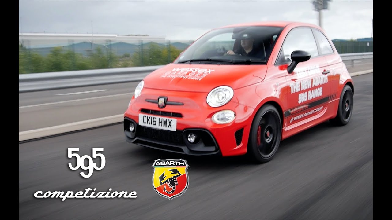 New Abarth 595 Competizione Review 2016 Model Youtube