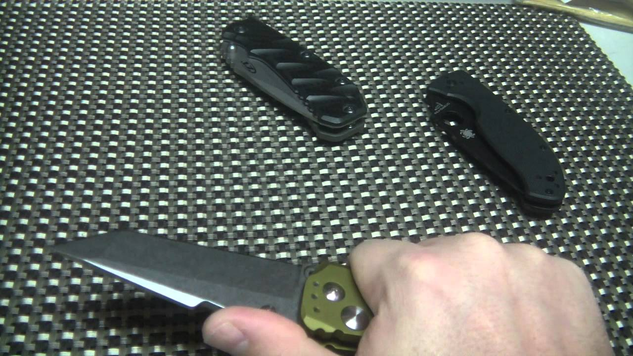 Hogue EX01, Spyderco Tenacious, and a discussion about knives you just keeping coming back to.