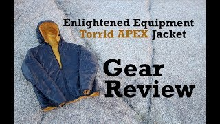 Enlightened Equipment Torrid Apex Jacket Review