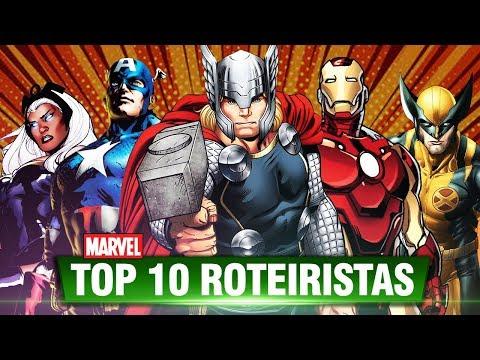 TOP 10 MAIORES ROTEIRISTAS DA MARVEL COMICS   Pipoca e Nanquim #281