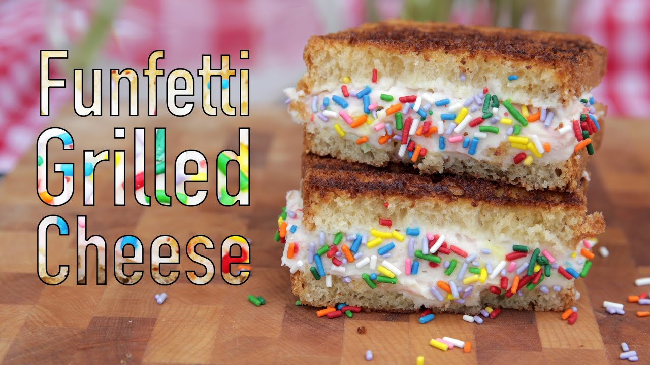 How To Make A Funfetti Grilled Cheese Sandwich Eat The Trend