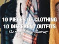 THE WINTER 10X10 STYLE CHALLENGE (TEN PIECES OF CLOTHING 10 DIFFERENT OUTFITS)