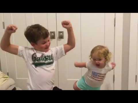 Fortnite dance challenge little sister