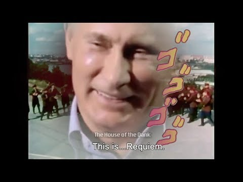 PUTIN'S GOLD EXPERIENCE RUSSIAN REQUIEM