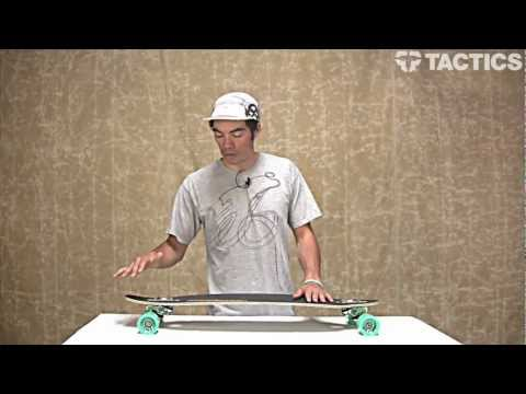 Sector 9 The Pass Sidewinder 35 Inch Drop Through Complete Longboard Review - Tactics.com