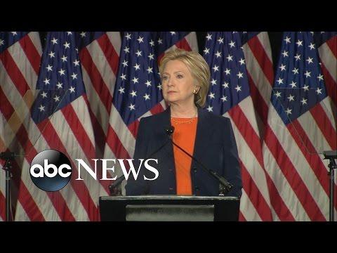 Hillary Clinton Calls Donald Trump 'Temperamentally Unfit' to Be President