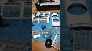 양산에어컨청소 삼성Q9000김연아에어컨 시큼한쉰내 강력…