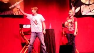 Obi Wan Kenobi - James Arnold Taylor - National Anthem SWW2010