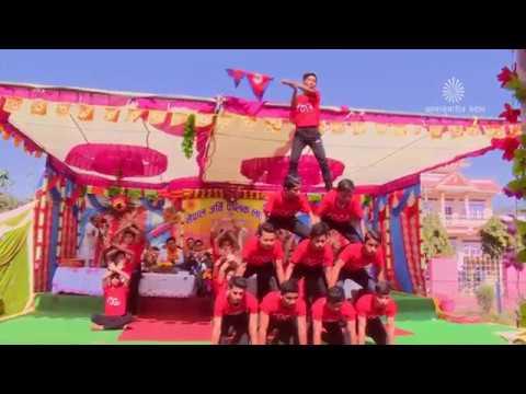 Group Dance on Bahubali Theme Song    Brahmakumaris Hetauda
