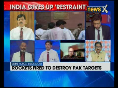 Former defence minister AK Antony speaks to NewsX over India's surgical strike at LoC