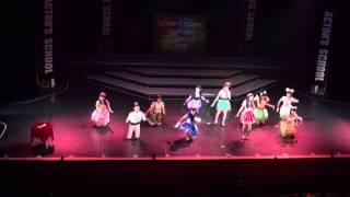 2014 09.14 アクターズスクール広島 AUTUMN ACT(秋の発表会) MAX GIRLS...