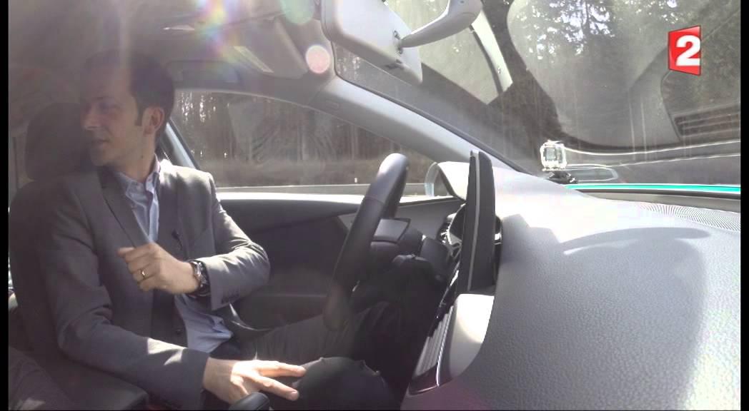 le test de la voiture allemande qui conduit toute seule youtube
