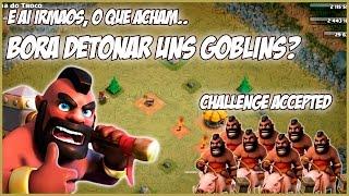 CLASH OF CLANS - Campanha dos Goblins só de HOGS #1 - Fases de 1 a 3