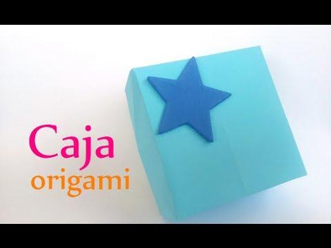Manualidades c mo hacer una caja de papel origami - Como se hace manualidades ...