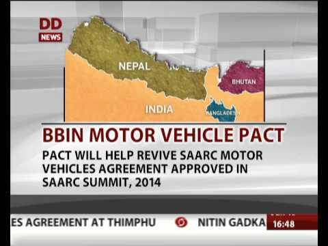 Key points of BBIN Motor Vehicle Agreement