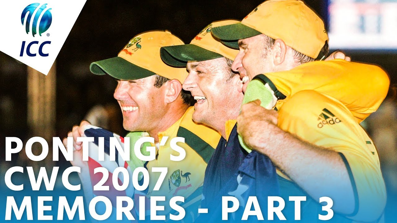 Ponting's World Cup Memories | Taking On Shaun Pollock in 2007 | PART 3 | ICC Cricket World Cup