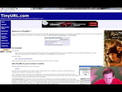 Tinyurl.com video