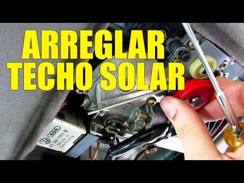 Como Arreglar el TECHO SOLAR del Coche | La Solucion Mas Simple