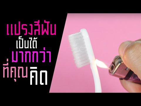 แปรงสีฟัน เป็นได้มากกว่าที่คุณคิด | รู้หรือไม่ - DYK - วันที่ 11 May 2019