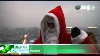 VTC14_Ông già Noel Đức tặng quà cho trẻ em theo cách đặc biệt nhất