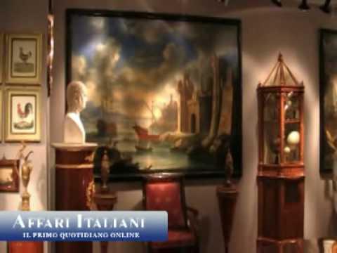 Antiquari a milano fra sculture e tessuti youtube for Antiquari a milano