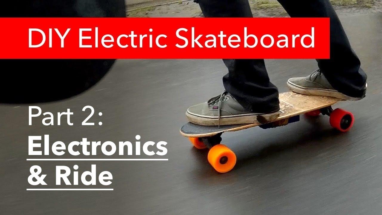 part 2 diy electric skateboard electronics youtube. Black Bedroom Furniture Sets. Home Design Ideas