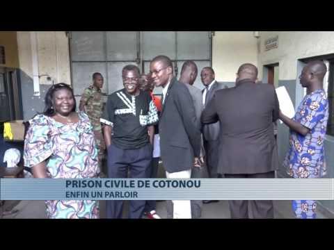 Cotonou : la prison civile dispose désormais d'un parloir