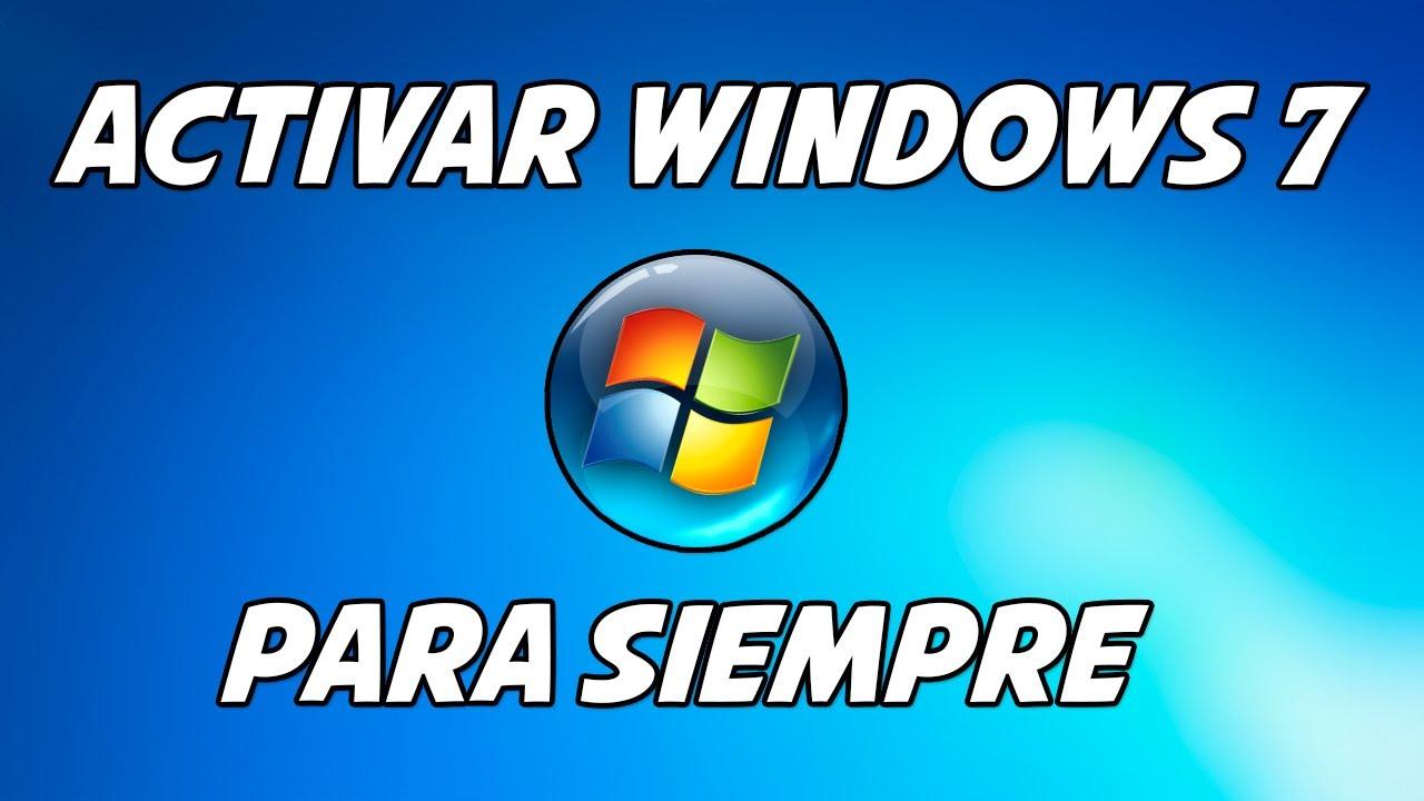 activar windows 7 professional 32 bits para siempre