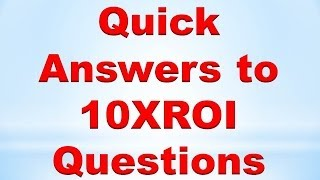 Forex Price Action Trading: Quick Answers to 10XROI Questions
